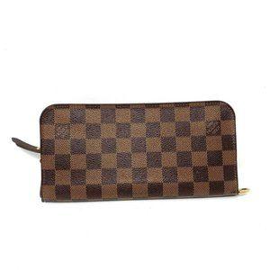 100% Auth Louis Vuitton Damier Ebene Bifold Wallet